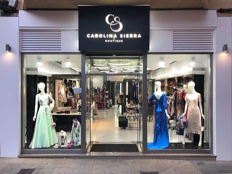 Carolina Sierra Boutique Fachada principal