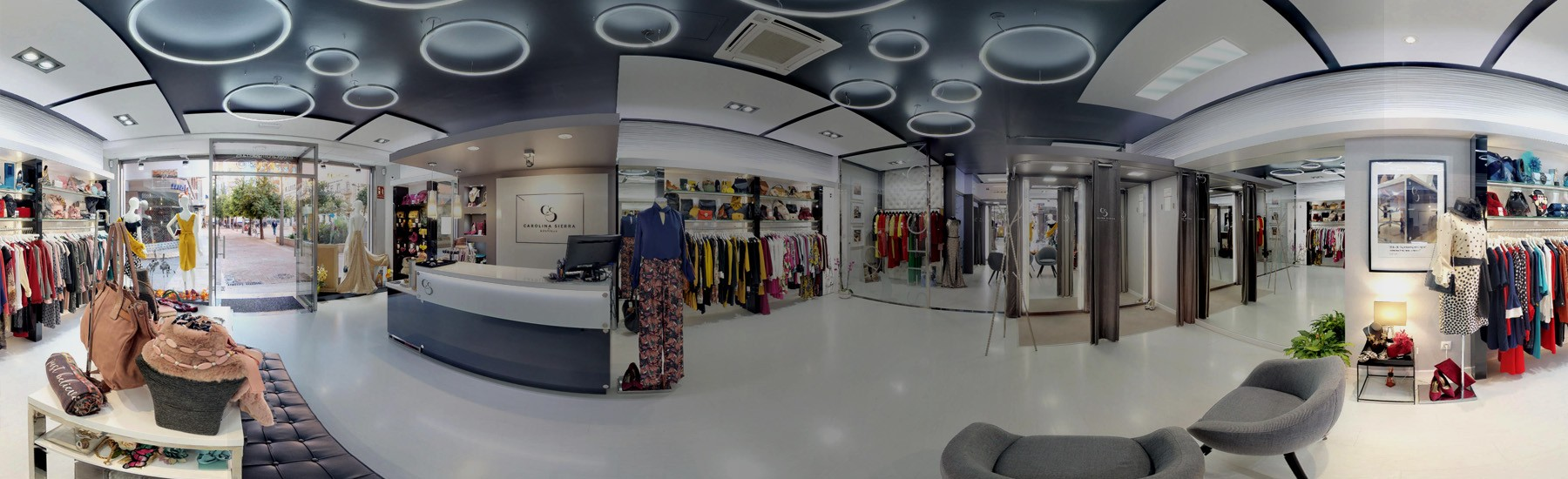 Visita virtual tienda Carolina Sierra